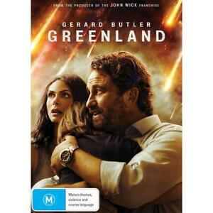 Greenland (Dvd,2021) *NEW* REG 4