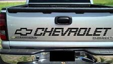 Chevrolet Tailgate ALL BLACK Sticker Vinyl Decal Truck SS 350 454 1500