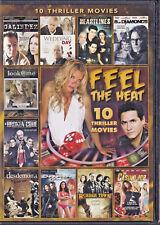 FEEL THE HEAT: 10 THRILLER MOVIES DVD (K)