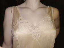 Damenwäsche Unterkleid 50 Nylon Spitze Unterrock große Größe Unterwäsche