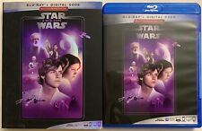 STAR WARS EPISODE IV A NEW HOPE BLU RAY + SLIPCOVER SLEEVE MULTISCREEN EDITION
