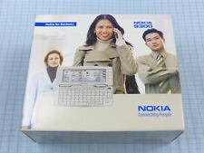 Original Nokia 9300 plata! nuevo con embalaje original! sin bloqueo SIM! sin usar! QWERTZ! rar!