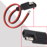 Useful Red+Black SAE DC Power Automotive DIY Connector Cable 2x0.75mm Durable W