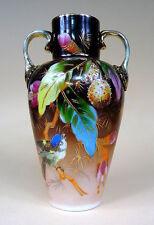 Taille vase opalinglas opalin peintes à la main pour 1880