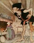 Arthur Rackham Jack And The Beanstalk Canvas Print 16 x 20     #3892