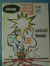 FANZINE BD : SCHTROUMPF CAHIERS BD n° 26. SPECIAL FOREST