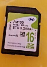 12 13 14 15  16 Hyundai GENESIS COUPE Navigation GPS SD Card Map OEM 96554-2M100