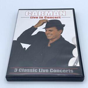 Carman Licciardello Live in Concert 3 DVD Set Religious Christian