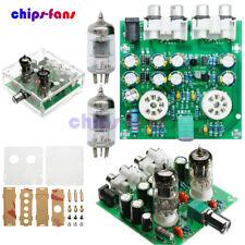 6J1 Valve Pre-amp Tube PreAmplifier Board  Headphone Amplifier + Case AC 12V