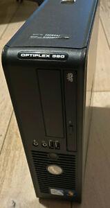 PC Unité Centrale Dell Optiplex 380 sff (Dual-core 2.6Ghz, 4gb Ddr3, HDD 160gb)
