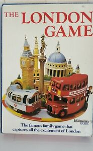 Bambola Toys The London Game - Vintage 1972 Board Game