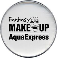 weißes Aqua Express Make Up Wasserschminke 15g weiß Schminke Karneval