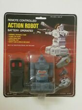 Vintage  Action Robot Remote  Controlled Soma 1983 Mint on Card