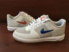 New Nike Lunar Air Force 1 Fuse SP CLOT Grey White Red Blue 717303-064 sz 8