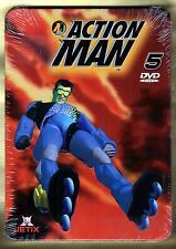 ACTION MAN LA SERIE COMPLETA ESTUCHE METALIZADO 5 DVDS PRECINTADO  DONCHOLLO