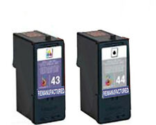 Non-OEM 43 & 44 For Lexmark X7675 Ink cartridges