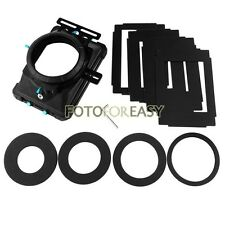 "FOTGA DP3000 PRO Matte Box 4:3 16:9 Ratio 4X4""Filter Trays for 15mm Rod DSLR Rig"