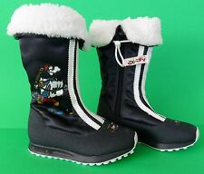 RARE~Adidas ORIGINALS WINTER BOOT Ski GOOFY Disney Fur snow Shoe~TODDLERS 12 K