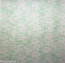 "5 x 12"" x 12"" Green Bamboo Patterned Vellum 120gsm NEW"