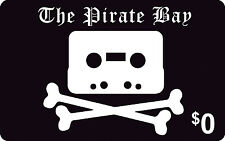 The Pirate Bay Novelty Gift Card $0 - PVC card