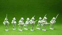 28mm American Civil War Miniatures, Iron Brigade,Unpainted, Historical , ACW22b