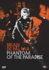 Phantom of the Paradise NEW PAL Classic DVD Brian De Palma William Finley