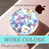 Crystal Opal Glitter STICKER made for Phone iPhone tablet planner magnetic