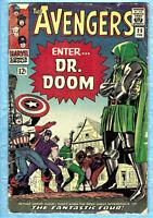 "Avengers # 25 , 1st series , 1966 , ""Enter DR. DOOM!"", Fantastic Four App."