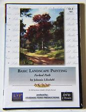 "Johnnie Liliedahl: Basic Landscape Painting ""Forked Path"" - Art Instruction DVD"