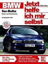 BMW 5er E39 Reparaturbuch Reparaturanleitung Jetzt helfe ich mir selbst Buch NEU