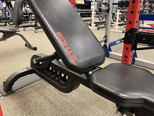 Ethos Utility Olympic Weight Bench Adjustable Flat Incline Black HEAVY DUTY