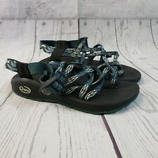 Chaco Womens Sandals Sz 6 Green Black Strappy