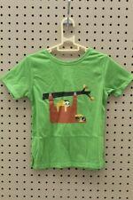 4Ward Clothing Boy's Short Sleeve Animals Tee (Greenery, Size 2T)