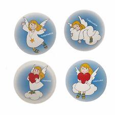 ANGEL MAGIC TOWEL CHRISTMAS COTTON FLANNEL BATH GIFT REINDEER 30 X 30 CM FUN
