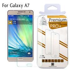 100% Genuine Gorilla Tempered Glass Film Screen Protector Samsung Galaxy A7