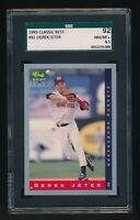 1993 Classic Best Derek Jeter #91  Rc Rookie Yankees  SGC 8.5