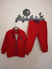 BNWT United Colours Of Benetton Red Tracksuit 12-18m