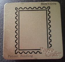 Cuttlebug Die Cutter RECTANGLE STAMP FRAME  fits Sizzix machine
