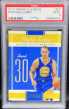 Stephen Curry 2010-11 Classics Golden State Warriors 2nd Year Steph PSA 9 POP 8