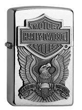 ZIPPO Accendino Harley Davidson Eagle Emblema