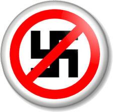 "Anti Nazi 25mm 1"" Pin Button Badge Anti-fascism stop racism Political protest"