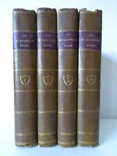 OVIDE. Les Métamorphoses. Tomes I-IV.  Paris: Duprat, Letellier et Comp. 1804