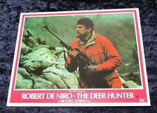 The Deer Hunter lobby cards Robert De Niro, Christopher Walken, Meryl Streep