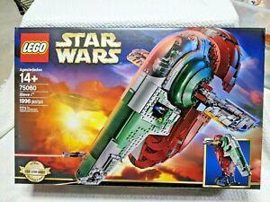 LEGO Star Wars Set 75060: Slave I Boba Fett/ESB/UCS/Retired/New in Sealed Box