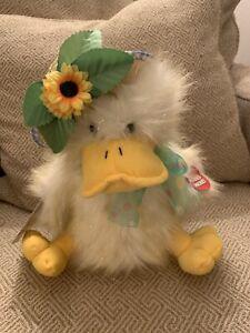 "Chantilly Lane Duck Sings Dances ""You Are My Sunshine"" PBC Plush Sunshine Duck"