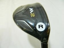 New RH TaylorMade M2 22* 4h Rescue 4 Hybrid Graphite Regular Flex M-2 16