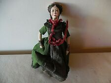 1946 Hand Painted Bisque Doll Mary Todd Lincoln President Abe Lincolns Wife