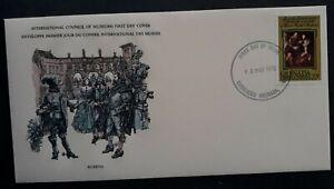 1978 Grenada Peter Paul Rubens Anniv FDC ties 22c Stamp cd Carriacou