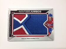 2015/16 BLACK DIAMOND TEAM LOGO JUMBO PATCH  MAX PACIORETTY CANADIENS