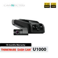 Thinkware U1000 4K Front + Rear Bundle Dash Camera Dashboard DVR WiFi GPS 64GB